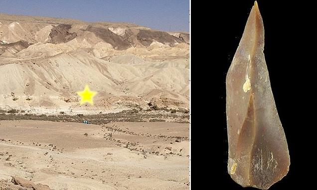 Prehistoric man lived with Neanderthals in Israel 50,000 years ago