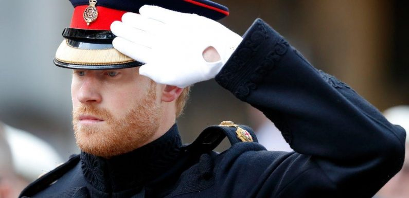 Prince Harry 'signed up for Oprah interview 24 hours after losing military titles'