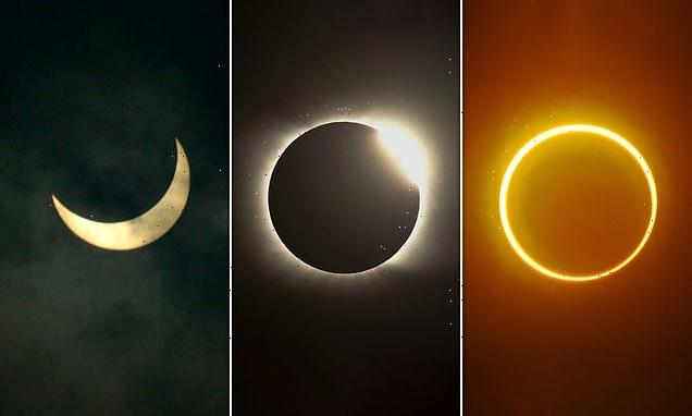 Rare 'ring of fire' solar eclipse will cast a dramatic shadow TOMORROW