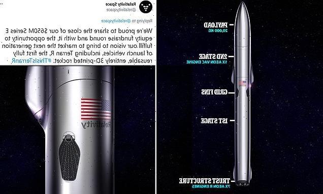 Relativity Space raises $650 mln for bigger 3D-printed rocket