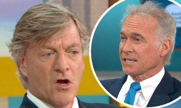 Richard Madeley clashes with Dr Hilary Jones on GMB