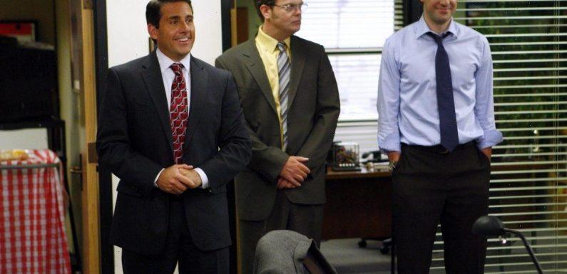'The Office': John Krasinski Called This Scene With Steve Carell and Rainn Wilson '1 of the Most Fun Moments'