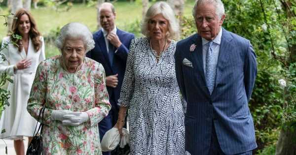 The Queen branded 'ruthless' for treatment of Camilla after Diana's death