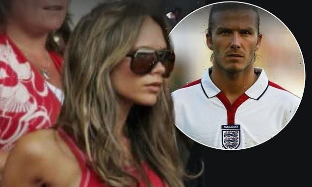 Victoria Beckham pokes fun at her WAG days with throwback snap