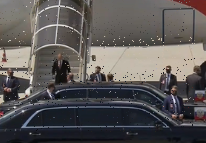 Vladimir Putin touches down for crunch Biden summit on luxury £390million 'Flying Kremlin' presidential plane
