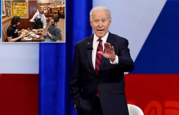'Easier said than done,' Joe: NYC eateries on Biden telling them to hike worker wages
