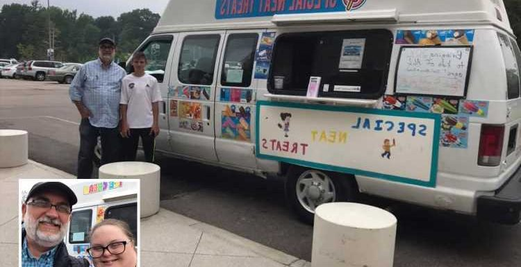 Dad buys an ice-cream truck to make sure his two grown-up children with Down Syndrome will have jobs