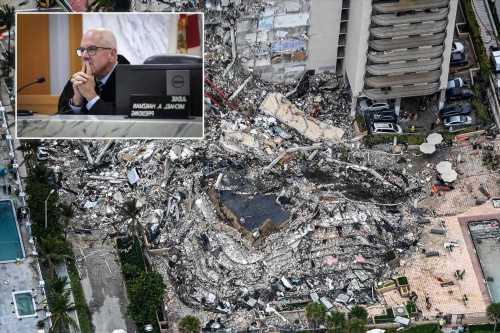 Florida judge says condo collapse victims will get $150M initial compensation