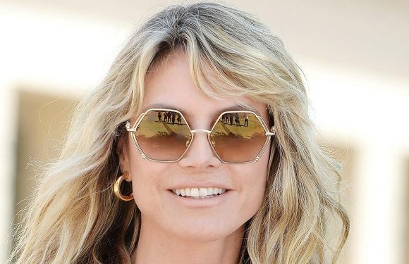 Heidi Klum Loves the Texture of Her Hair After Using This Shampoo