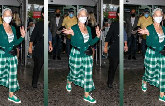 Helen Mirren Arrived at Cannes Wearing the Internet's Favorite $79 Sneakers