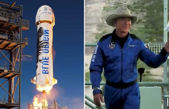 Jeff Bezos may not get his astronaut wings after FAA changes policy on who qualifies – on same day as Blue Origin flight