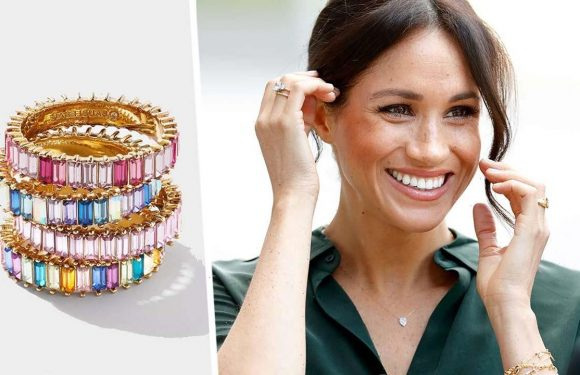 Meghan Markle loves her Baublebar rings and – wait for it – there's a HUGE sale on right now