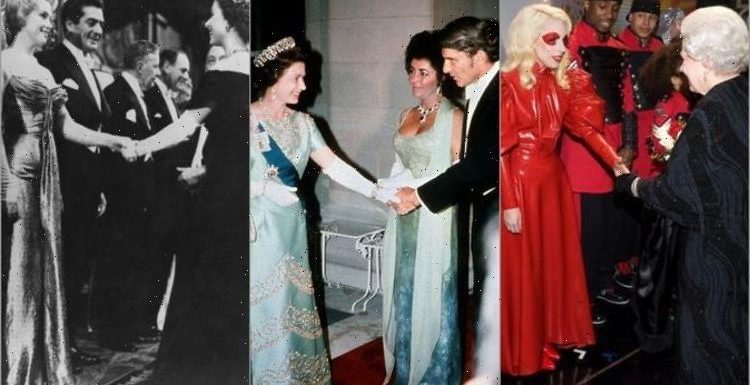Most outrageous outfits worn to meet The Queen over 70 years