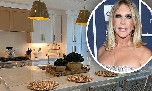 RHOC's Vicki Gunvalson shows off her newly decorated  downsized home