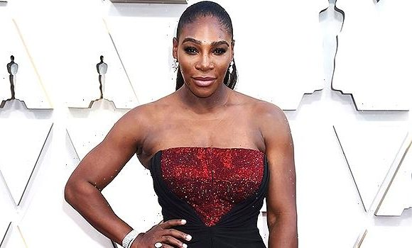Serena Williams Looks Like A Boss In Black Corset Dress As She Finishes Out The Week In Style