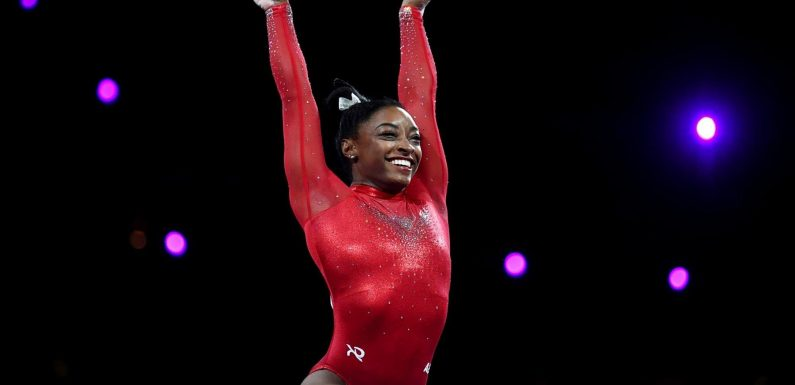 Simone Biles Just Nailed a Historic Vault During Olympic Practice