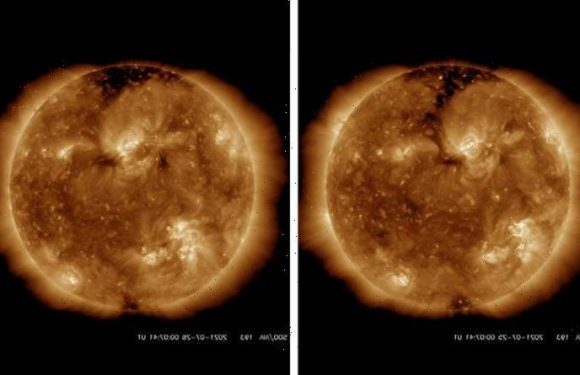 Solar winds incoming! Space weather forecast predicts 'unrest' as hole opens in the Sun