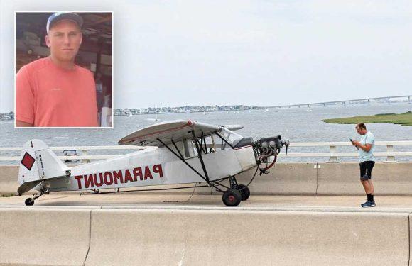 Teen pilot in NJ bridge landing says 'being scared does nothing'