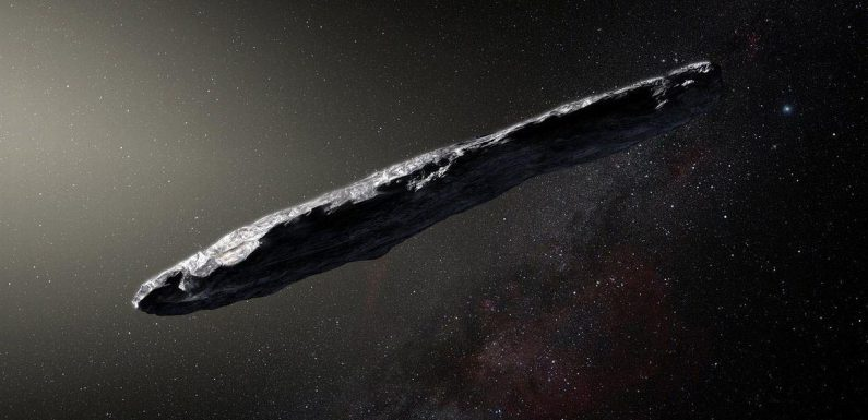 UFO professor who claims space rock was aliens steps up extraterrestrials hunt