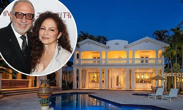 Gloria and Emilio Estefan make $33M PROFIT selling their Miami mansion