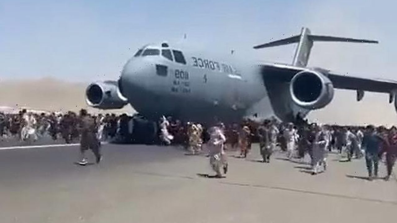 'How many? Holy Cow!' Audio reveals 800 packed on to C-17 Jet Leaving Afghanistan