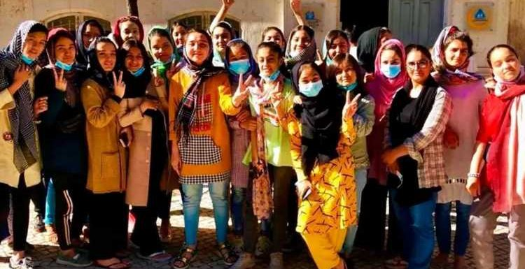 Boris Johnson must let Afghan girls' footie squad and their families come to Britain to begin new lives