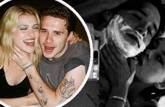 Brooklyn Beckham and Nicola Peltz pose NAKED in a racy mirror photo