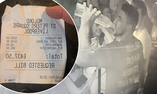 EXC Tommy Fury failed to clear a £440 bar tab on Liverpool night out