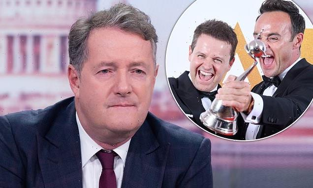 EXCLUSIVE: Piers Morgan blasts Ant & Dec after they win big at NTAs