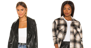 From Shackets to Faux Leather, Shop Our 11 Favorite Outerwear Picks From Revolve
