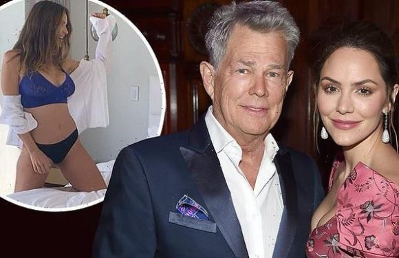 Katharine McPhee shares spicy text change with David Foster