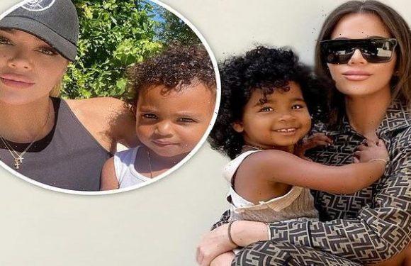 Khloe Kardashian says True Thompson thinks Psalm West is her brother