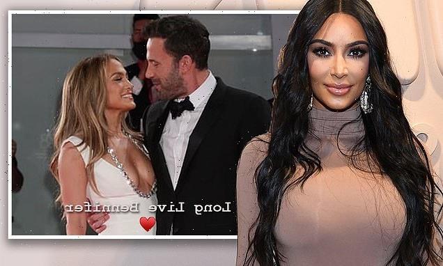 Kim Kardashian says she's all about Jennifer Lopez and Ben Affleck