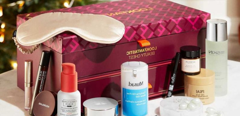 Lookfantastic reveals 2021 Beauty Chest worth over £383 and it's on sale from £85