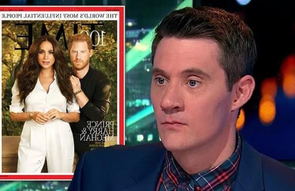 Meghan Markle, Prince Harry's Time magazine cover is mocked on HYBPA?