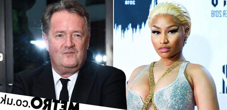 Piers Morgan hits back at Nicki Minaj over Boris Johnson briefing drama