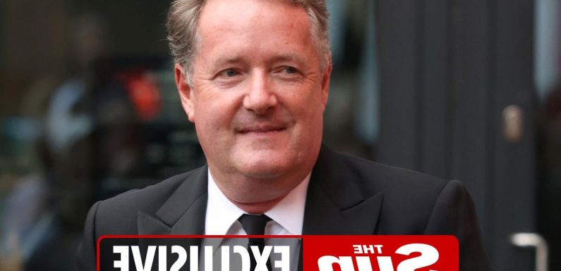 Piers Morgan says new job is 'bigger than GMB' as he teases he's looking for a 'new TV wife'