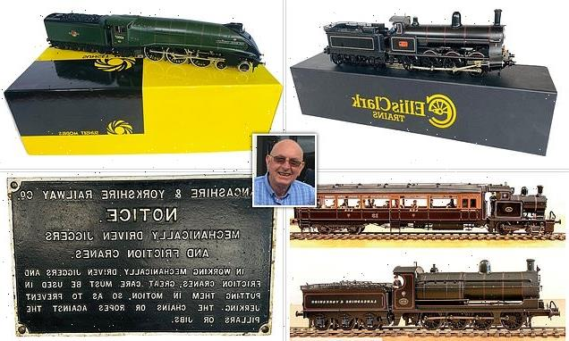 Railway enthusiast's model train collection sells for £100,000