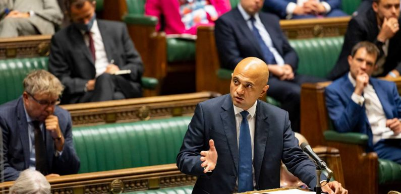 Sajid Javid slaps down SAGE warning of 7k Covid hospital admissions a day but admits new variant would be 'huge concern'