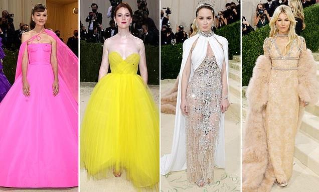 Sienna Miller, Emily Blunt and Rose Leslie lead UK stars at Met Gala