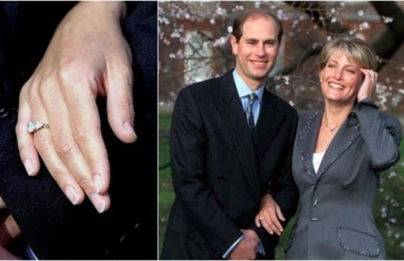 Sophie Wessex has 'romantic' £105,000 engagement ring from Edward: 'Sweet and classic'