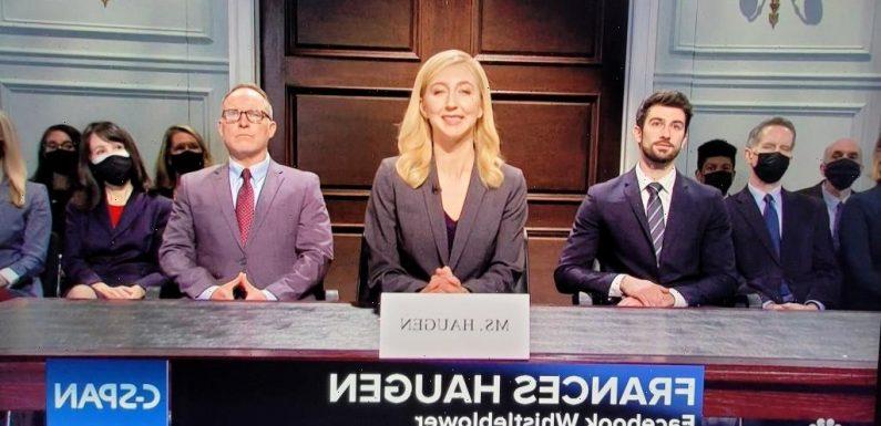 'SNL' Rips Facebook Whistleblower Hearing & Senators' Digital Ignorance In Cold Open