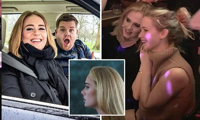 Adele's superstar inner circle