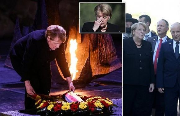 Angela Merkel makes final state visit to Israel's Holocaust memorial