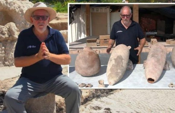 Archaeology breakthrough: Huge 1,500-year-old WINE FACTORY discovered in Israel