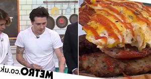 Brooklyn Beckham torn apart for making a sandwich on cooking segment