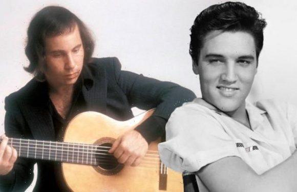Elvis Presley: Paul Simon wept at King's grave before writing Graceland album