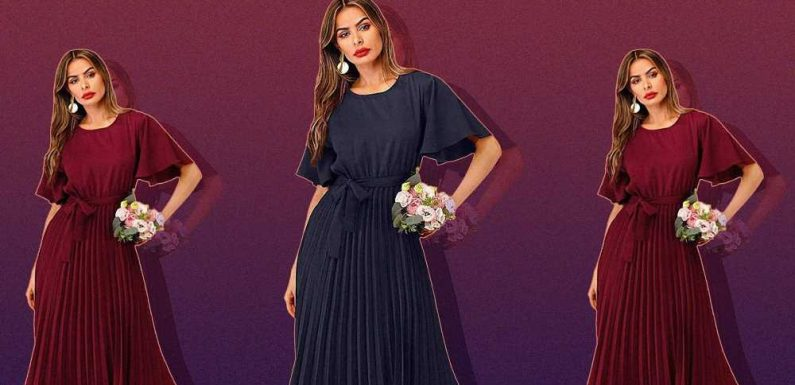 Is Your Fall Calendar Bursting With Weddings? Wear This $50 Dress to All of Them