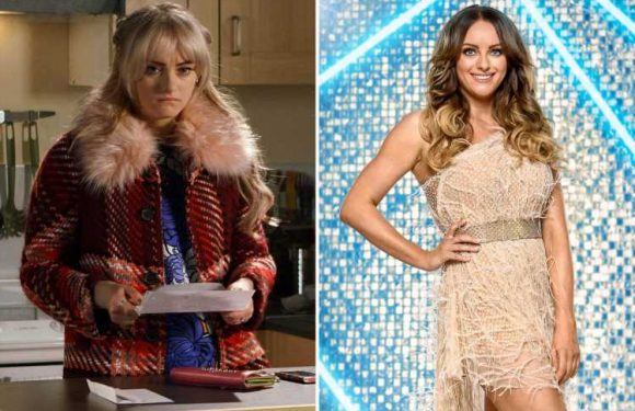 Katie McGlynn's soap star transformation from Corrie's dowdy Sinead to Strictly glamazon