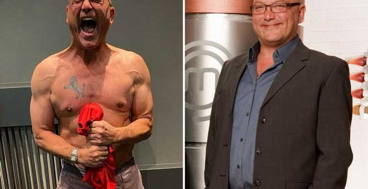 MasterChef's Gregg Wallace strips off to reveal shredded body after losing four stone
